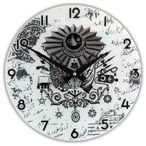 Osmanlı saat, osmanlı saat baskı, tuğralı saat baskı